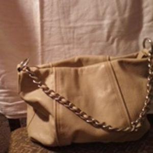 Tan Leather Calvin Klein Bag